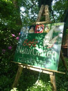 Die NaturGarten-Staffelei in Befis Garten